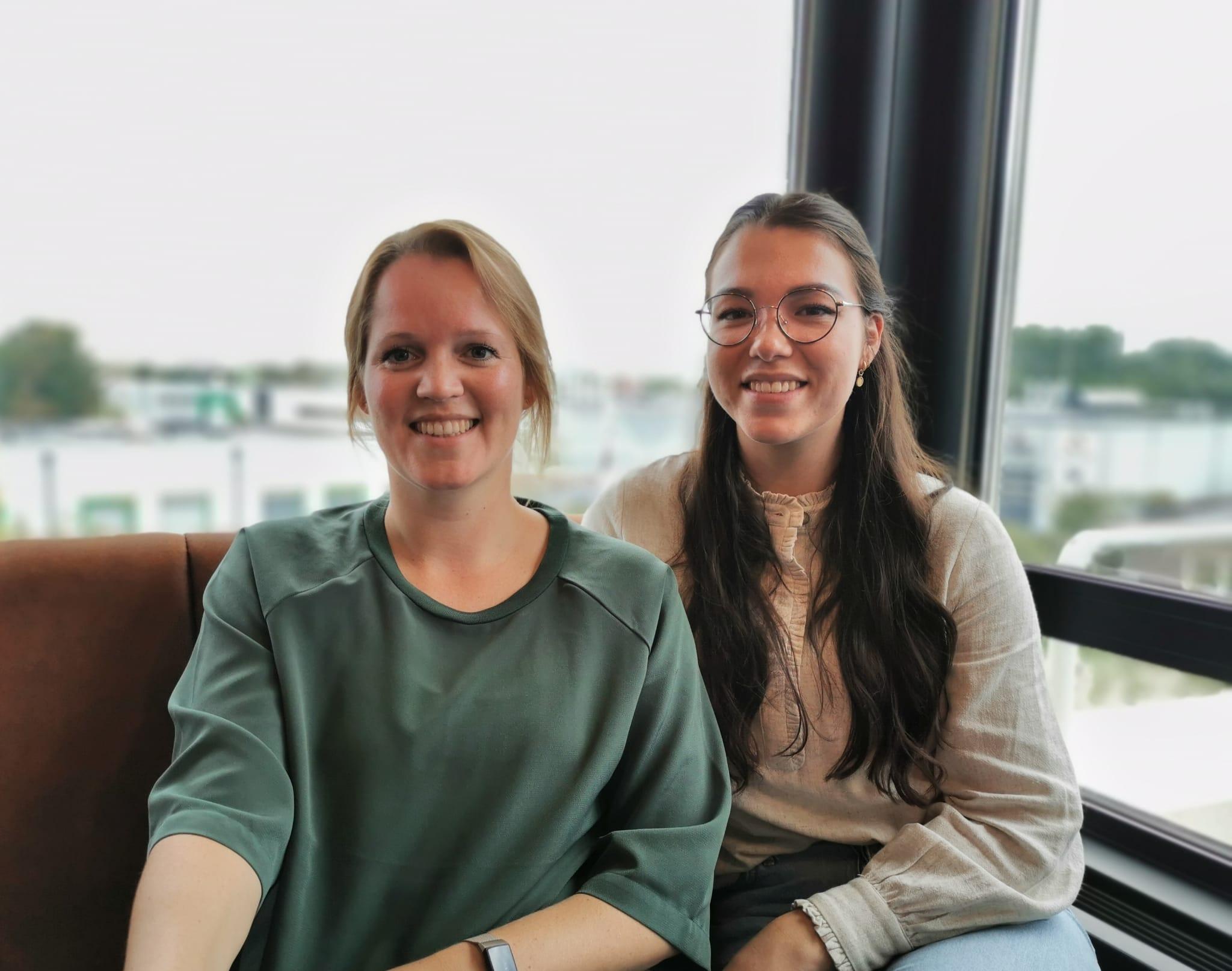 Nieuwe ToCare Zorgprofessionals Joyce en Emma